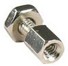 D-Sub Hex Head Screw with Nut 4-40UNC, 100pcs/Bag