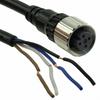 Circular Cable Assemblies -- XS2F-M12PVC4S10M-ND -Image