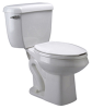 Z5560 EcoVantage® Pressure Assist ADA Two-Piece Toilet -- Z5560 -- View Larger Image