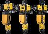 Double Chain Air Hoist, 1000KG, 3M, Rp1/2 -- XA-EHL-1TW