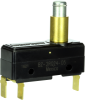 MICRO SWITCH BZ Series Premium Large Basic Switch, Single Pole Double Throw Circuitry, 15 A at 250 Vac, High Overtravel Plunger Actuator, Quick Connect Termination, Silver Contacts, UL, CSA, ENEC -- BZ-2RQ24-D5 -Image