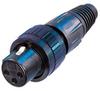 Neutrik NC3FX-SPEC 3-Pin XLR Female w/Locking Ring -- NEUNC3FXSPEC
