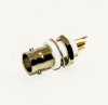 BNC Isolated Ground Panel Mount Connector -- BU-P3778 - Image