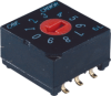 10mm DIP Coded Rotary Switches -- CRD Series - Image