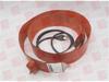 ELECTROFLEX DH-55-115 ( ELECTROFLEX, DH-55-115, DH55115, DRUM HEATER, 115V, 1000WATT, 55GAL, 22.5IN DIA. DRUM, METAL VERTICAL DRUM, NO THERMOSTAT, 64.5X8IN ) -Image