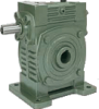 Casting Iron Worm reducers Metric Dimension -- Series WKS