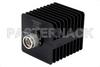 25 Watt RF Load Up to 18 GHz With N Male Input Square Body Black Anodized Aluminum Heatsink -- PE6106 -Image