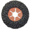 Arbor Flap Disc,4-1/2,24,Extra Coarse -- 6NZ10