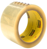 3M Scotch 373 Box Sealing Tape Transparent 72 mm x 50 m Roll -- 373 72MM X 50M TRANSPARENT - Image
