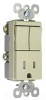 Combination Switch/Receptacle -- TM8118-TRICC -- View Larger Image