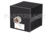 50 Watt RF Load Up to 18 GHz With N Male Input Square Body Black Anodized Aluminum Heatsink -- PE6198 -Image
