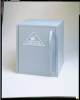 Acid Storage Cabinet,Benchtop,Light Blue -- 8RF55