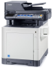 Color Multifunctional Printer - Print / Scan / Copy / Fax -- ECOSYS M6535cidn