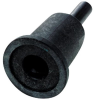 3M 07500 Medium Roloc+ Disc Pad - 1 in DIA - 1/4 in Shank - Shank Thread Attachment -- 051131-07500 -- View Larger Image