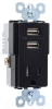 Combination Switch/Receptacle -- TM8-USBBKCC6 -- View Larger Image