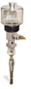"""(Formerly B1745-3X08), Manual Chain Lubricator, 5 oz Polycarbonate Reservoir, 1/4"""" Round Brush Stainless Steel -- B1745-005B1SR1W -- View Larger Image"""