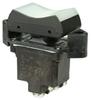 TP Series Rocker Switch, 2 pole, 3 position, Screw terminal, Flush Panel Mounting -- 2TP1-61 - Image