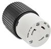 30A Electrical Connector: locking, 125VAC, NEMA L5-30 -- 70530NC