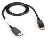 DisplayPort Cable Male/Male 32 AWG 10-ft -- VCB-DP-0010-MM -- View Larger Image