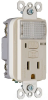 Combination Switch/Receptacle -- S1595-NTLLACC8 -- View Larger Image