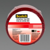 Scotch® Cellophane Tape 660 Red, 1/2 in x 72 yd, 96 rolls per case Bulk -- 70006742244