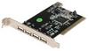 5Port USB2.0 Expansion Card PCI -- 1504-SF-05
