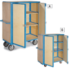 EUROKRAFT Premium Steel and Wood Security Trucks -- 7069203