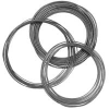 Coiled Electropolished 316L Grade Stainless Steel Tubing -- Silcosteel®-CR Treated