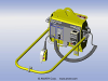 Self-Contained Battery Vacuum Station -- VPF-57-DC