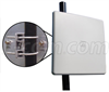 2.4 GHz 16 dBi Dual Polarized Panel Antenna - N-Female Connectors -- HG2416DP