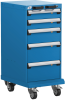 Mobile Compact Cabinet with Partitions -- L3BBG-3415L3B -Image