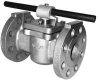 Flanged End Sleeved Plug Valves