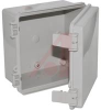 ENCLOSURE;ABS/PC;UL94-5V;NEMA1,2,4,4X;INDOOR;SOLID DOOR;LT GRAY;15.74X11.81X6.29 -- 70148020