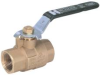 "BRASS BALL VALVE 1/2"" IPS -- 251920G"