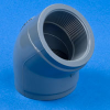45° CPVC Threaded Pipe Elbows -- 29114 - Image