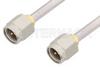 SMA Male to SMA Male Cable 12 Inch Length Using PE-SR402AL Coax -- PE34180-12 -Image