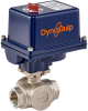 Electrically Actuated 3-Way Ball Valve -- EYSG Series -Image
