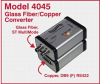 High Speed ST Fiber to RS422 Interface Converter -- Model 4045 -Image