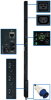 3-Phase Monitored PDU, 12.6 KW, 36 208V Outlets (30 C13, 6 C19), 3-ft. IEC-309 Blue 60A Input, 0U Vertical Mount -- PDU3VN3G60