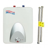 Tankless Water Heater -- WaiWela Mini Tank 2.5 Gallon with Stainless Steel Flexible Connectors - Image
