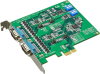 2-port RS-232/422/485 PCI Express Communication Card w/Surge & Isolation -- PCIE-1602 - Image