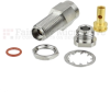 2.92mm Female (Jack) Bulkhead Precision Connector For RG405 Cable, .235 inch D Hole, Clamp/Solder