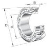 22300 Series Spherical Roller Bearings -- 22319 W33