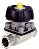 Burkert Type 2333 316L SS Diapharagm Valve, 2 Way, EPDM Wetted Material, 1 1/2