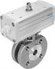 VZBC-50-FF-40-22-F0507-V4V4T-PP106-R-90- Ball valve with drive unit -- 1913371