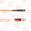 BLACK BOX CORP FOCMR50-002M-LCMT-OR ( 2M (6.5FT) LCMTRJ OR OM2 MM FIBER PATCH CABLE INDR ZIP OFNR ) -Image