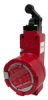 GSX Series, Explosion-Proof Safety Switch, 20 mm housing, 3NC/1NO top roller lever -- GSXC46D