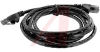 Cord, Patch; 5 ft.; Cat 6; Booted; Black -- 70121160