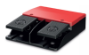 Double Uncovered Foot Switches -- 606.2110.013 - Image