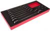 Steel Ratchet Spanner 12 Piece Set -- 833-5925